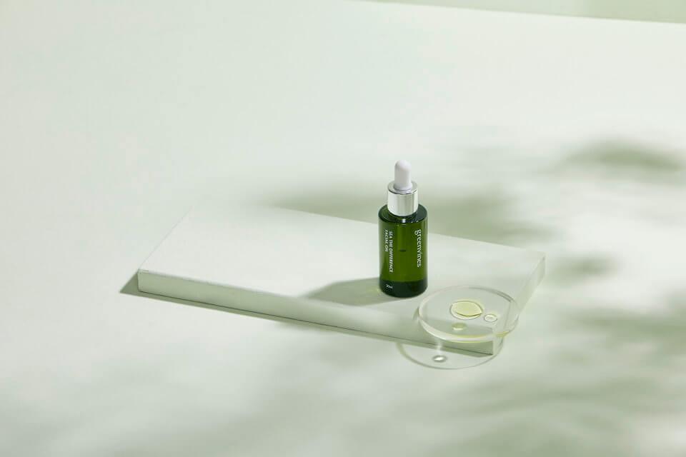 油肌保養-荷包蛋保養法的好夥伴:綠色海洋精華油